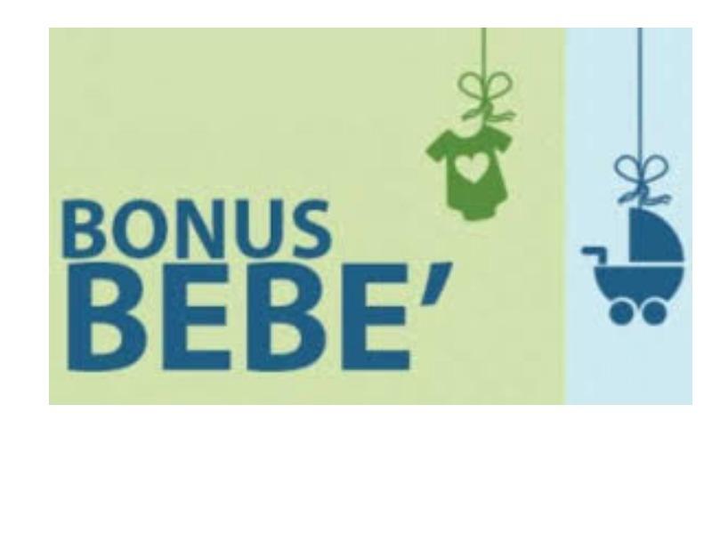 Rapertura bonus bebè 2015