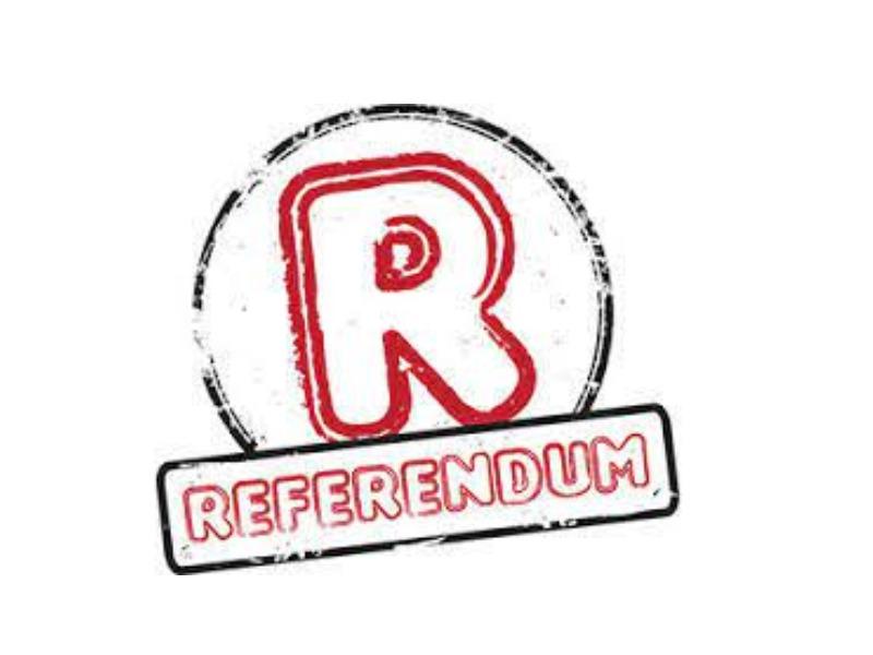 RACCOLTA FIRME PER RICHIESTA INDIZIONE REFERENDUM POPOLARE EX ART. 75 COSTITUZIONE