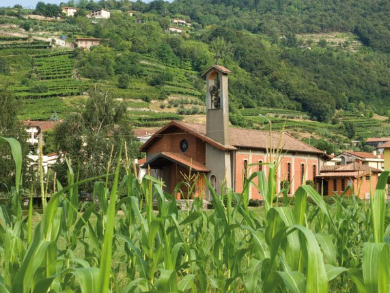 Comune di Chiuduno - Chiesa della Madonna della Campagna- Val del Fico